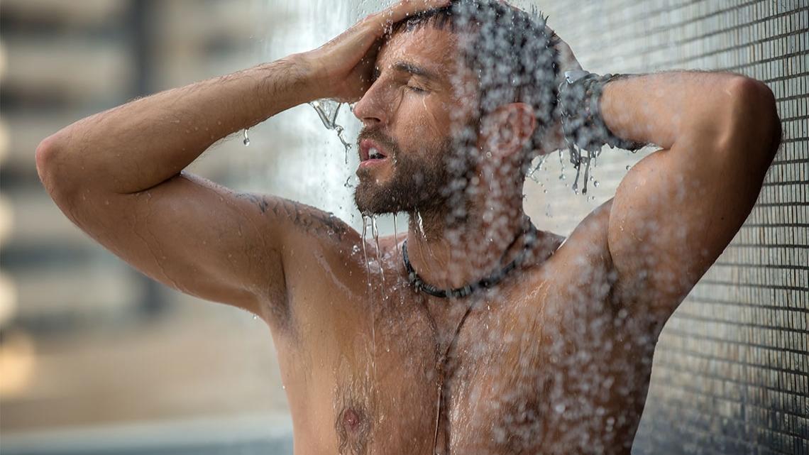 Nach sport dem duschen männer Nachschwitzen: Frisch