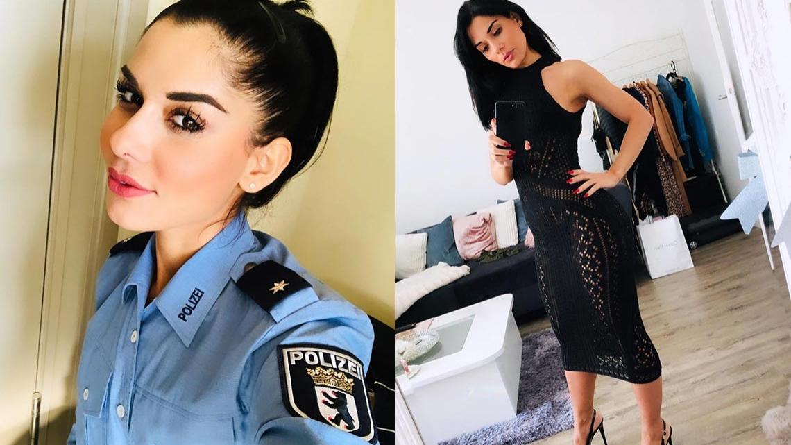 Instagram Polizistin